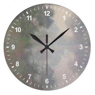 Grande Horloge Ronde La Seine chez Giverny, brumes de matin