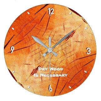 Grande Horloge Ronde Le bois sec est après 93 nécessaires