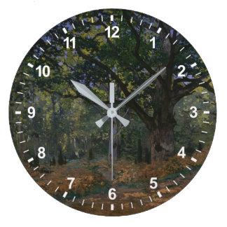 Grande Horloge Ronde Le chêne de Bodmer, forêt de Fontainebleau