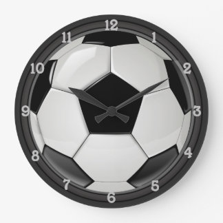 Grande Horloge Ronde Le football (le football)