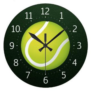 Grande Horloge Ronde Le meilleur temps du sport | pour le tennis