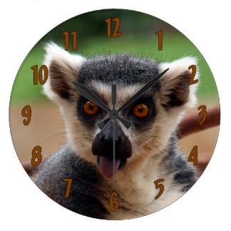 Grande Horloge Ronde Lémur
