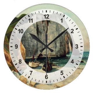 Grande Horloge Ronde Les falaises d'Etretat, le port d'Avale