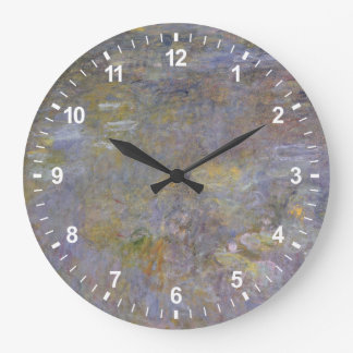 Grande Horloge Ronde L'étang de nénuphar