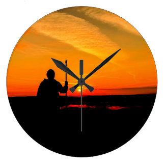 Grande Horloge Ronde Lever de soleil de Glastonbury
