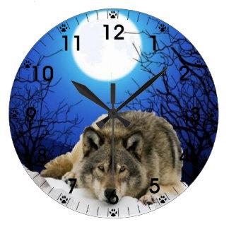 Grande Horloge Ronde L'observateur