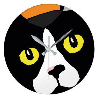 Grande Horloge Ronde Lucas l'horloge murale d'art de bruit d'abrégé sur