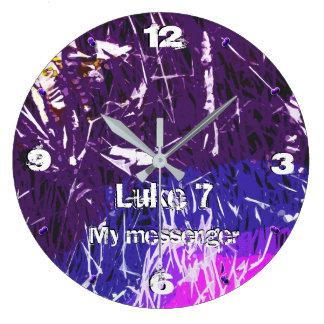 Grande Horloge Ronde Mon chapitre 7 -93 de Luc de messager