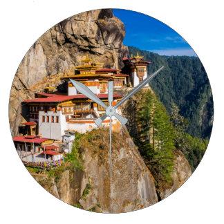 Grande Horloge Ronde Monastère de nid de tigre