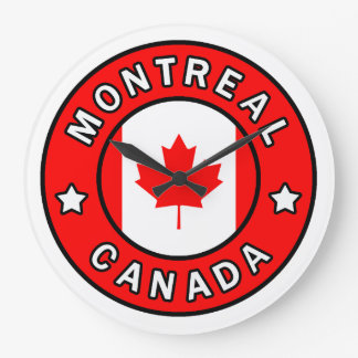 Grande Horloge Ronde Montréal Canada