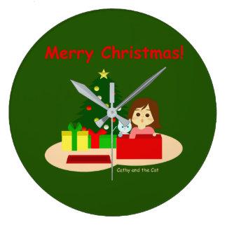 Grande Horloge Ronde Noël 1