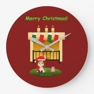 Grande Horloge Ronde Noël 4