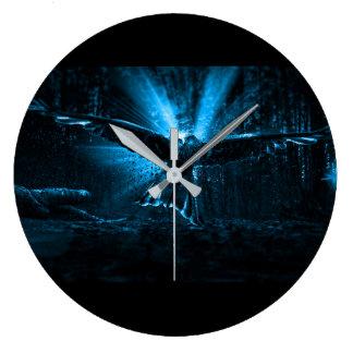 Grande Horloge Ronde Nuit Eagle