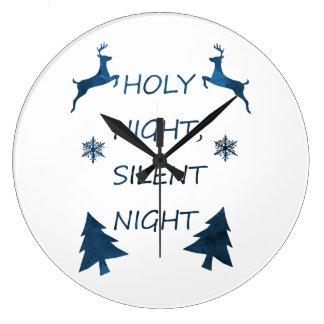 Grande Horloge Ronde Nuit sainte, nuit silencieuse