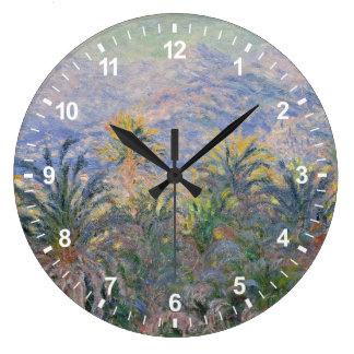 Grande Horloge Ronde Palmiers chez Bordighera