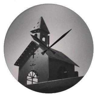 Grande Horloge Ronde Pays peu d'église