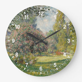 Grande Horloge Ronde Paysage : Le Parc Monceau