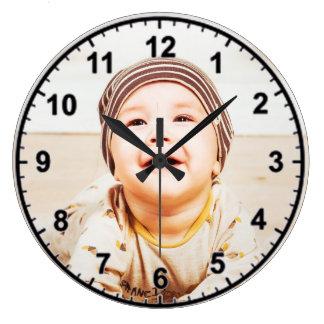 Grande Horloge Ronde petit enfant
