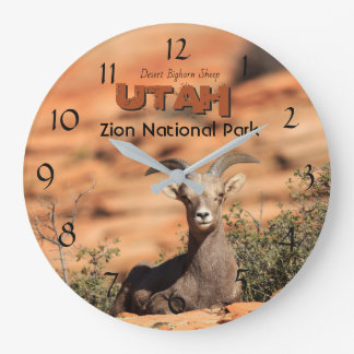 Grande Horloge Ronde Photo de l'Utah de parc national de Zion de