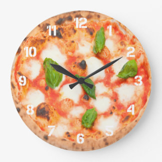Grande Horloge Ronde photo italienne de pizza de margherita
