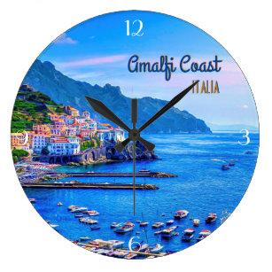 Grande Horloge Ronde Photographie de voyage d'Amalfi Italie l'Europe