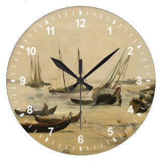 Grande Horloge Ronde Plage, marée basse