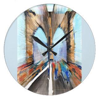 Grande Horloge Ronde Pont de Brooklyn