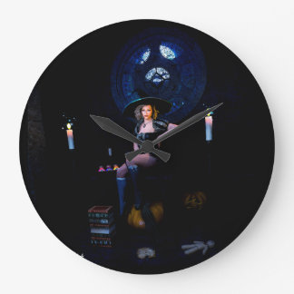 Grande Horloge Ronde prêtre de sorcière