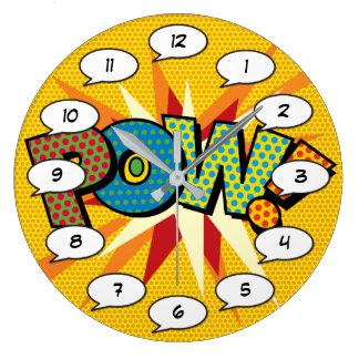 Grande Horloge Ronde prisonnier de guerre d'art de bruit de bande