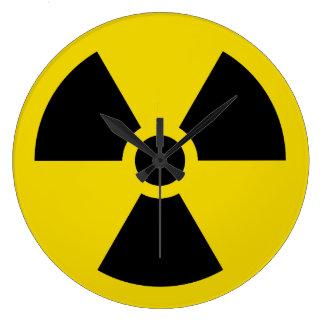 Grande Horloge Ronde Radioactif