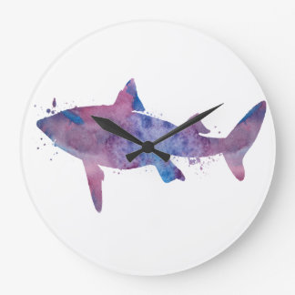 Grande Horloge Ronde Requin