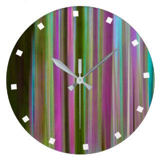 Grande Horloge Ronde Résumé de forêt tropicale de Hoh au crépuscule  