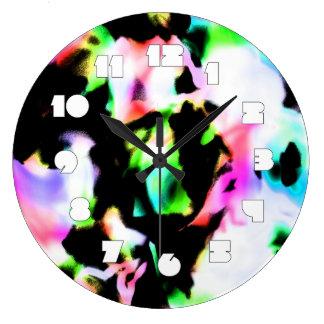 Grande Horloge Ronde Rêve psychédélique