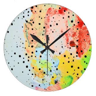 Grande Horloge Ronde Se sent