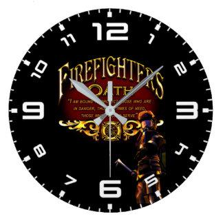 Grande Horloge Ronde Serment de sapeurs-pompiers
