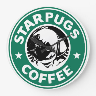 Grande Horloge Ronde StarPugs