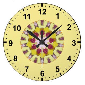 Grande Horloge Ronde Sucrerie douce, fractale d'une manière ordonnée