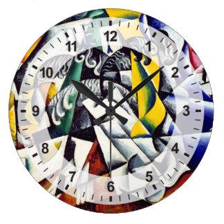 Grande Horloge Ronde Sujet d'un magasin tinctorial
