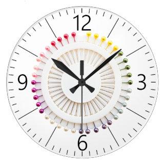 Grande Horloge Ronde Support de goupilles droites