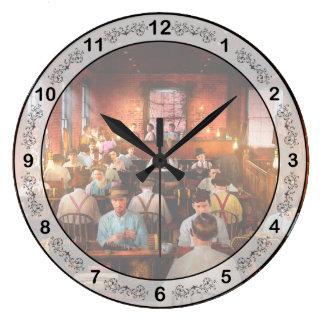 Grande Horloge Ronde Tabagisme - cigare - remettez les cigares roulés