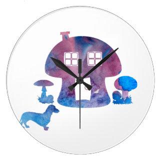 Grande Horloge Ronde Teckel