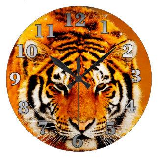 Grande Horloge Ronde Tigre sibérien