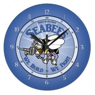 Grande Horloge Ronde U.S. Bataillon de construction de marine