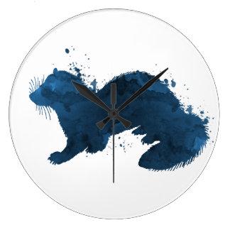 Grande Horloge Ronde Un furet