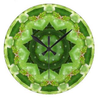 Grande Horloge Ronde Une fractale de tanière de cactus