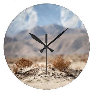 Grande Horloge Ronde Vallée Flora d'Apple