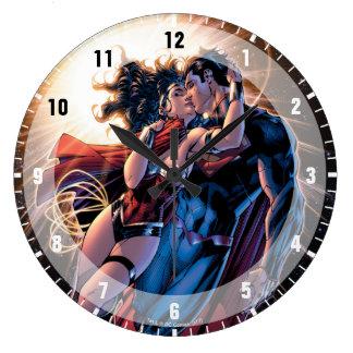 Grande Horloge Ronde Variante comique de la couverture #12 de ligue de