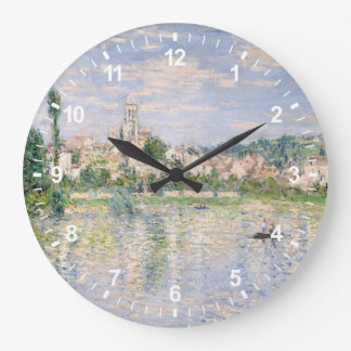 Grande Horloge Ronde Vétheuil en été