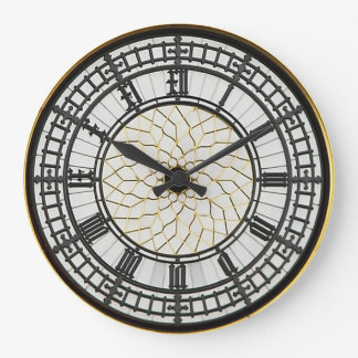 Grande Horloge Ronde Visage d'horloge de Londres Big Ben