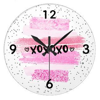 Grande Horloge Ronde xoxoxo